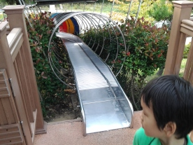 Oooh, a slide! Watch the video!
